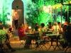 Terrasse restaurant nuit