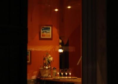 Bar vu de dehors