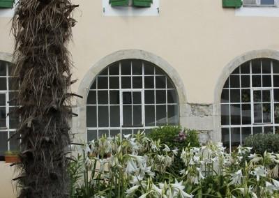 Fenêtres du cloître